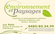Environnement & Paysages